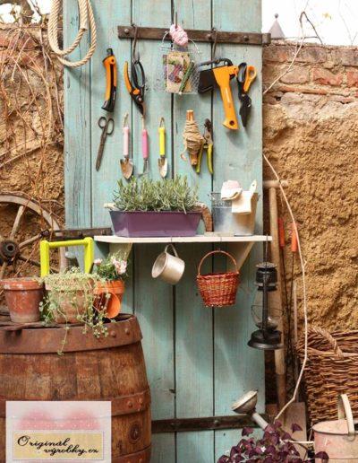 Dveře jako pomocník v zahradě
