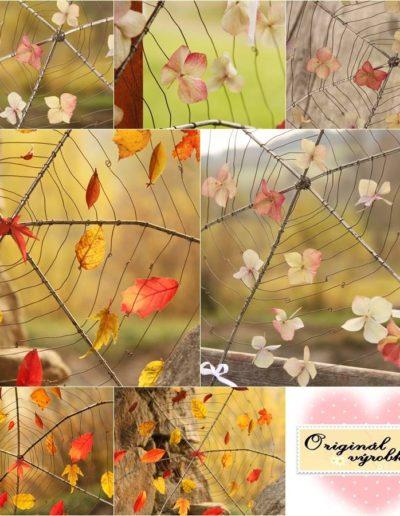 Podzim v pavučině