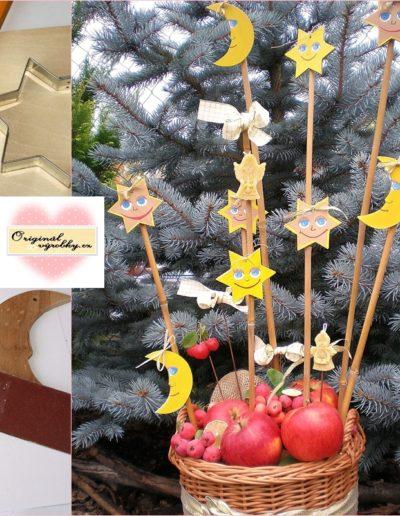 Vánoční výzdoba z bedniček