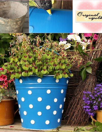 Kbelík na květiny