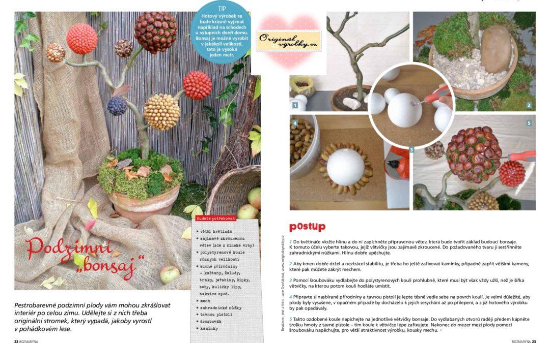 Podzimní bonsaj